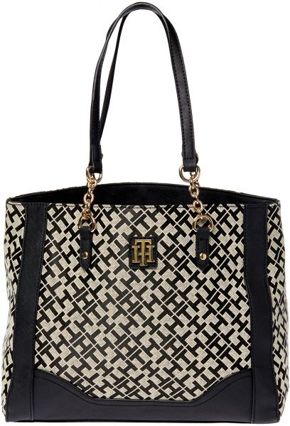 a4a1e140c738c9 Tommy Hilfiger Tote Bag for Women - Black