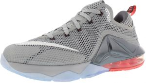 703f072d67f9a ... real nike jordan lebron xii low running shoes for boys wolf grey white  wolf grey hot