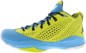 best cheap d033f 5d8a4 Nike Jordan CP3 VII Basketball Shoes for Men, Venom Green/Black/Dark Powder  Blue
