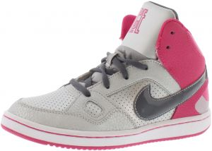 21130a576cdd Nike Son Of Force Mid Preschool Basketball Shoes for Girls