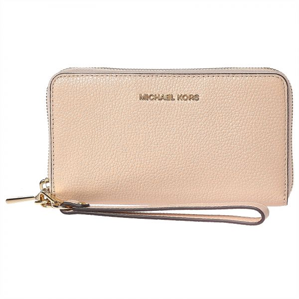 b550f1ff5bee72 Michael Kors Mercer Zip Around Wallet for Women - Oyster Price in ...