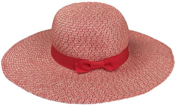 e62daf0c533 Red Bowler   Derby Hat For Women