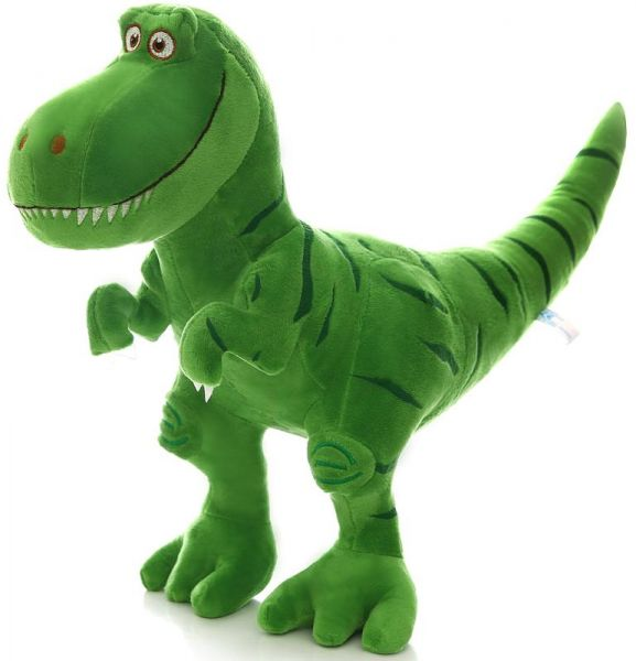 Tyrannosaurus 40cm Tall Plush T Rex Dinosaur Stuffed Animal Green