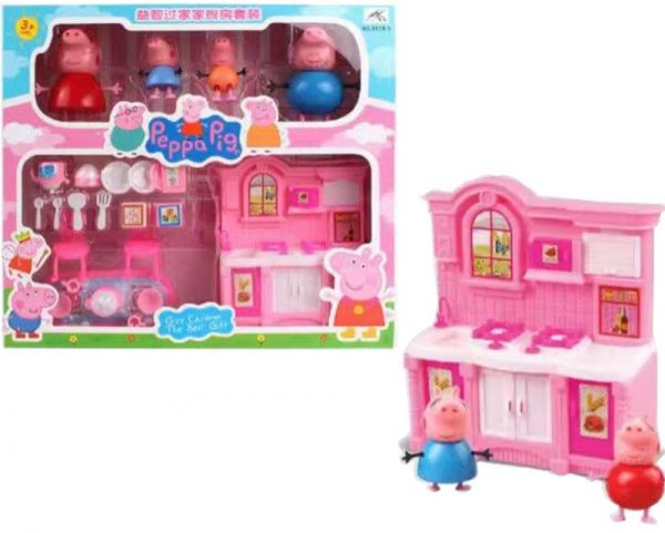 Peppa Pig Kitchen Set Toy With Action Figure For Kids Children Price