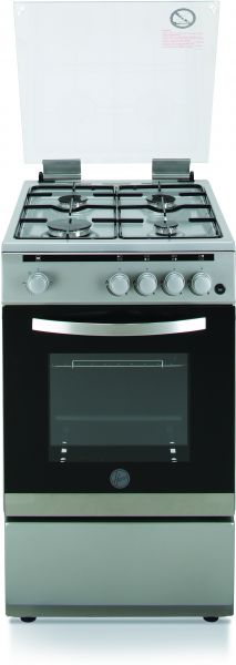 buy hoover 50 x 60 cm 4 burners gas cooker stainless steel finish