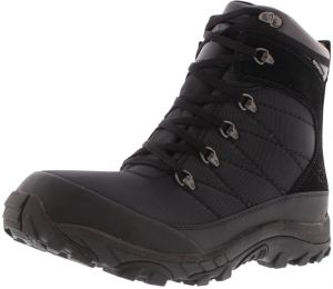 North Face Black Safety Boot For Men