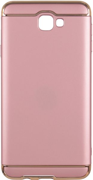 Back Cover for Samsung Galaxy J7 Prime, Rose Gold Price in
