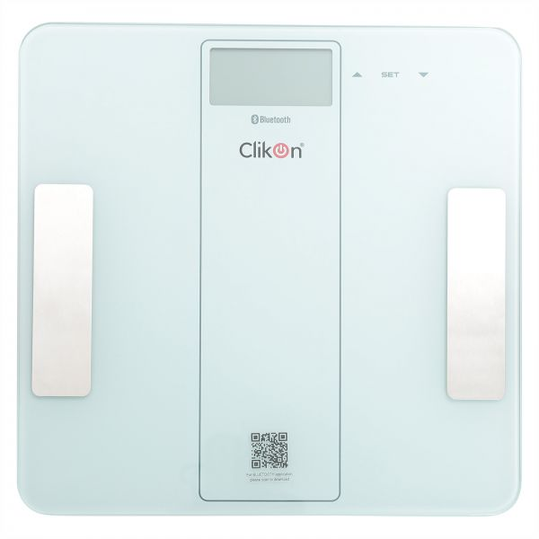 Clikon Digital Bathroom Scale With Bluetooth Ck4019 Souq