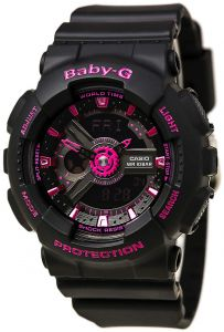 3310ee534202 Buy casio baby g for women black ana digi dial resin band watch bga ...