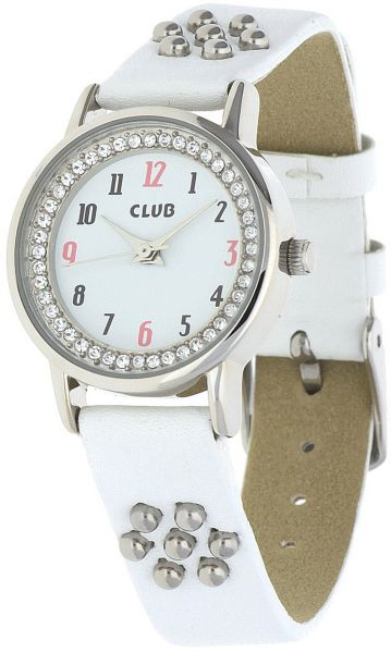 01073575d45f Club Kids White Dial Plastic Band Watch - A65147S0A
