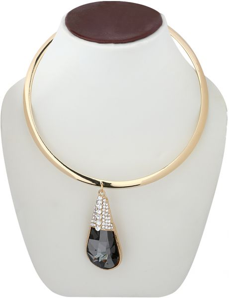 Pendant Necklace For Women With Crystal Stone Price In Saudi