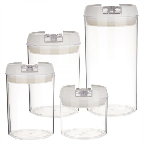 Seal Pot Kitchen Storage Containers Pack of 4