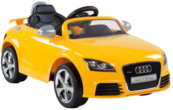 Audi Electric Car For Kids Remote Control Yellow Price In Saudi