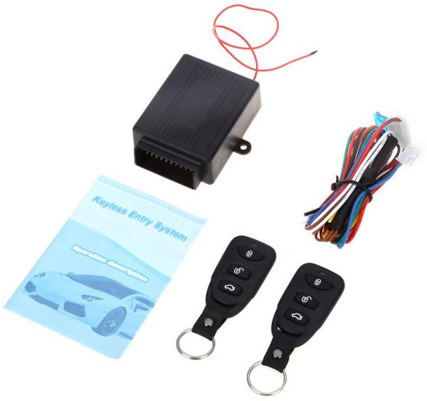 2pcs Remote Control With Center Lock And Automatic Locking After