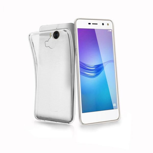 online store 62a36 c4aea Back Cover For Huawei Y5 2017 - Transparent