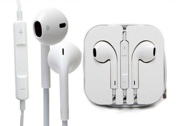Headphone With Remote & Mic For iPhone 5 5G and other mobile phones-