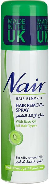 Nair Hair Removal Spray With Baby Oil Kiwi Extract 200 Ml Price In