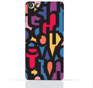 OPPO Neo 7/A33T TPU Silicone Case With Abstract Font Seamless Pattern