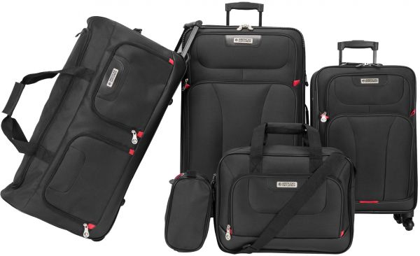 American Explorer Luggage Trolley Bags  4eeb43fff6114