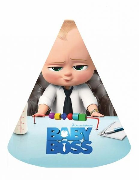 Boss Baby birthday party hats 6pcs party supplies party ...