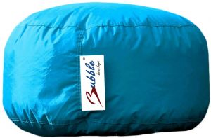 Bubble Mini Puff PVC Bean Bag 27X40X40, Baby Blue