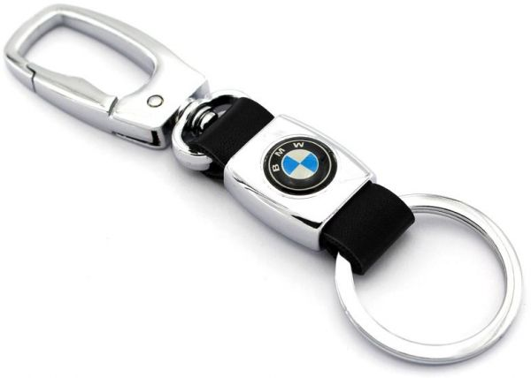 auto car keychain leather business key chain for key fob and key