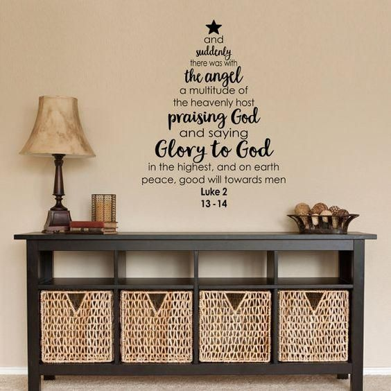 Attractive Religious Wall Decals For Living Room, Home Decor, Waterproof Wall Stickers