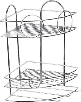 Layers Bathroom Corner Shelf Silver Review And Buy In Cairo