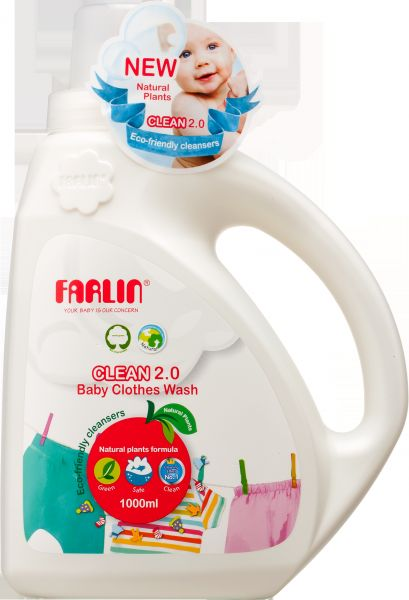 Cb 10007 Clean 2 0 Baby Clothes Wash New 1000ml 1 Liter Babies