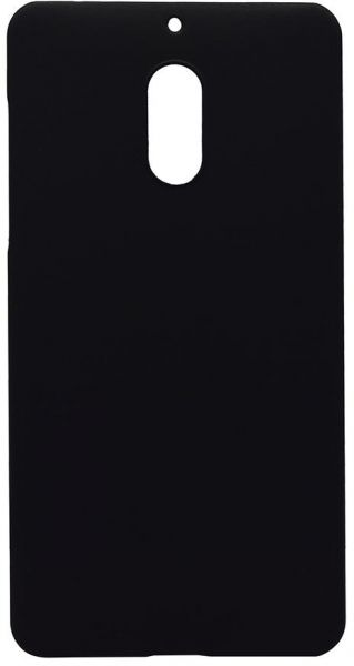 Back Cover By Ineix For Nokia 6,Matte Finish - BLACK