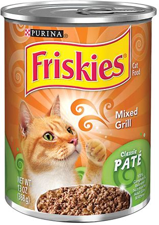 Friskies Classic Pate Mixed Grill Cats Food