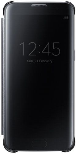 d9e7f3b77f6 Samsung Galaxy S7 Edge Clear View Cover - Black. by Samsung