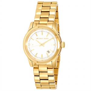 Michael Kors Women s Mother of Pearl Dial Stainless Steel Band Watch -  MK5303 61db59983c