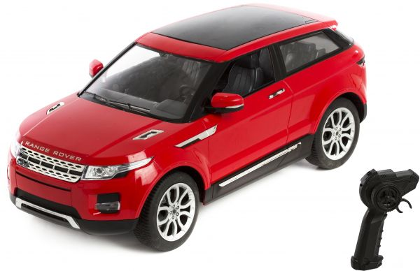 Rak Toys Car Car Range Rover Evoque With Remote Controll Red
