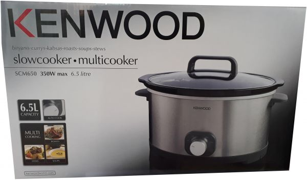 Kenwood Kitchen Appliance Slow Cookers Scm650 Price In Uae Souq