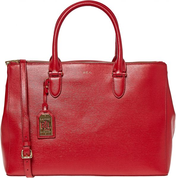 95ef5af16d Lauren by Ralph Lauren Newbury Double Zip Satchel Bag for Women ...