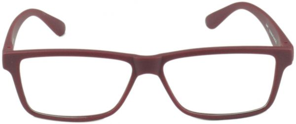 c5cd67bd35f70 Feather Square Glass Frame for Men - Grey