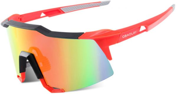 Polarized Cycling SunGlasses Mans Mountain Bike Goggles Sport Cycling MTB Bicycle Eyewear Ciclismo Glasses-S100