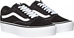 finest selection 0738e ac1f0 Vans Old School Fashion Sneakers for Women - Black  White
