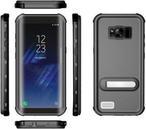 hot sale online 4083a 73d9a Underwater Snowproof/ Waterproof/ Lifeproof/ Sweatproof Diving PVC Case  Cover for Samsung Galaxy S8 Plus Black