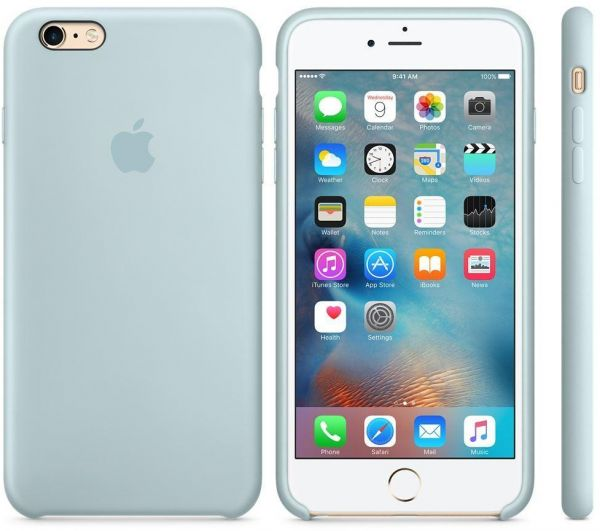promo code 633a6 b5ae2 Apple Silicone case iPhone 6S / 6 - Turquoise Price in Egypt | Souq ...