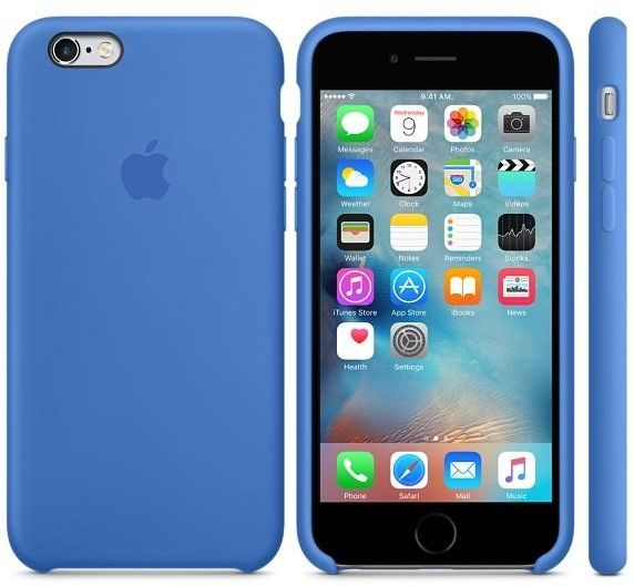 cheap for discount 4d1c1 4f7ee Apple Silicone case iPhone 6S Plus / 6 plus - Royal Blue