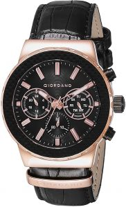 7e1180eb23c1e Giordano Casual Watch For Men Analog Leather - 1779-03. by Giordano, Watches  -