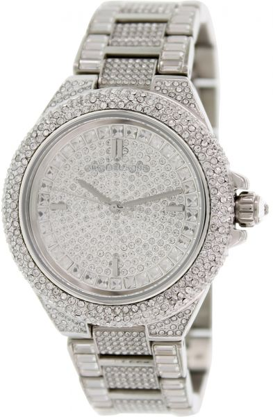 d2ef5a11aba Michael Kors Camille Women s White Dial Stainless Steel Band Watch - MK5869