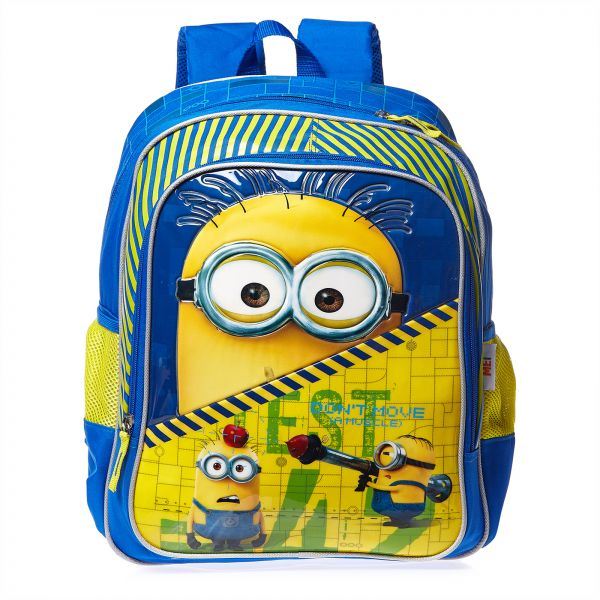 """16/"""" Minions Despicable Me Large School Kids Backpack Book Bag"""