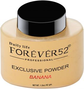 Forever 52 Exclusive Banana Face Powder, Yellow - 42 gm