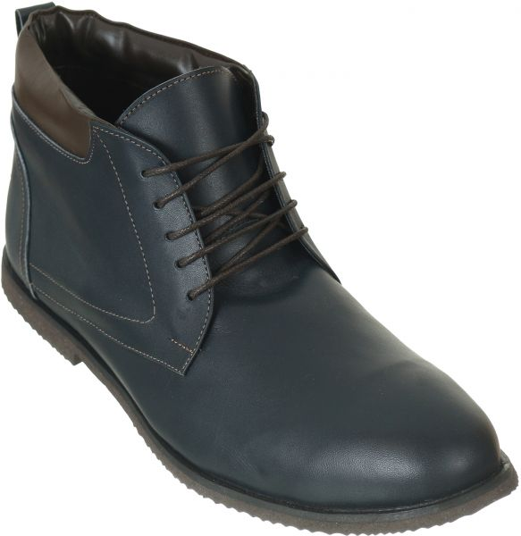 Roberto Cavalli Navy Lace Up Boot For Men