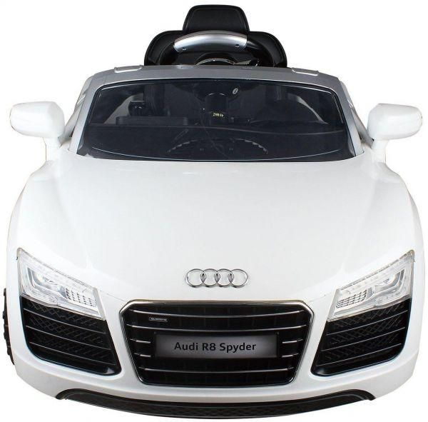 Audi Car With Rechargeable Battery For Kids White