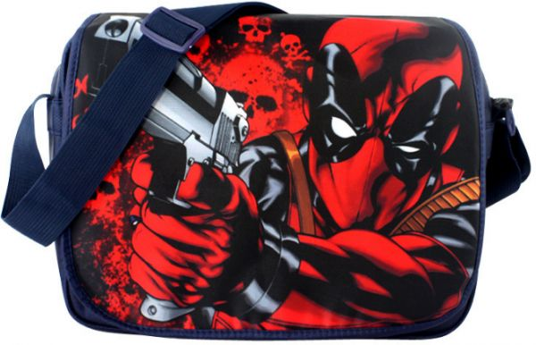 cfcda81cc22b Deadpool fashion cool shoulder bag schoolbag laptop bag