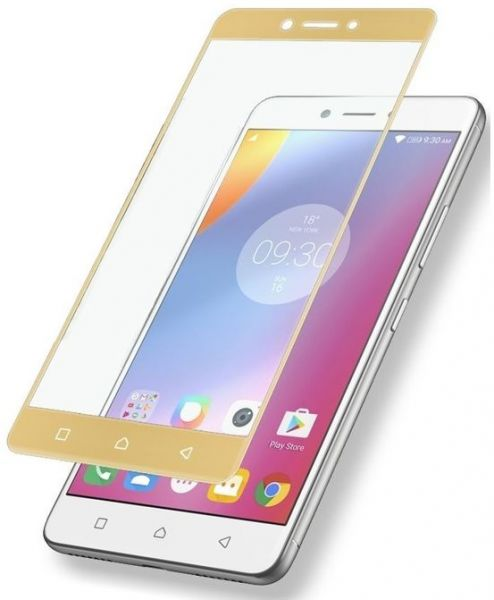 Glass Screen Protector for Lenovo K6 Note - Gold
